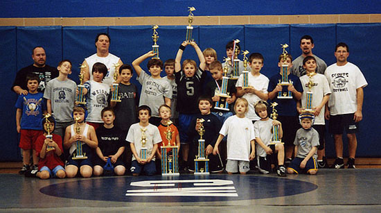 Elco Tournament 2006 - CW Mat Club Winners!