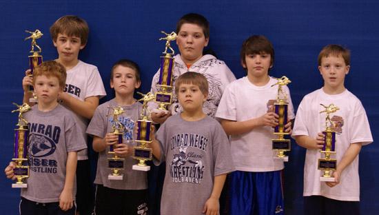 Shamokin 2009 - Winners with Trophies